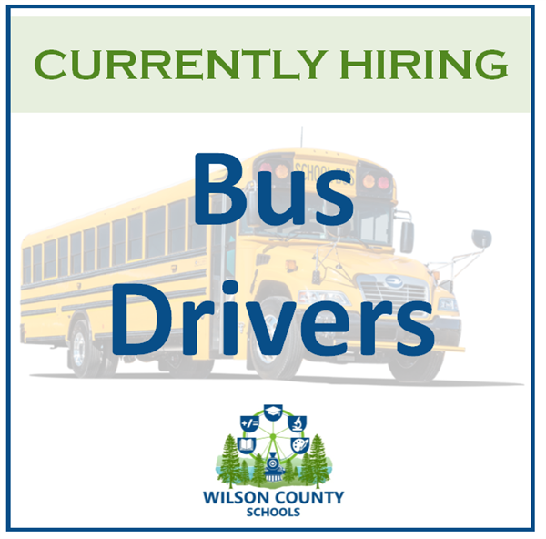 Currently Hiring Bus Drivers