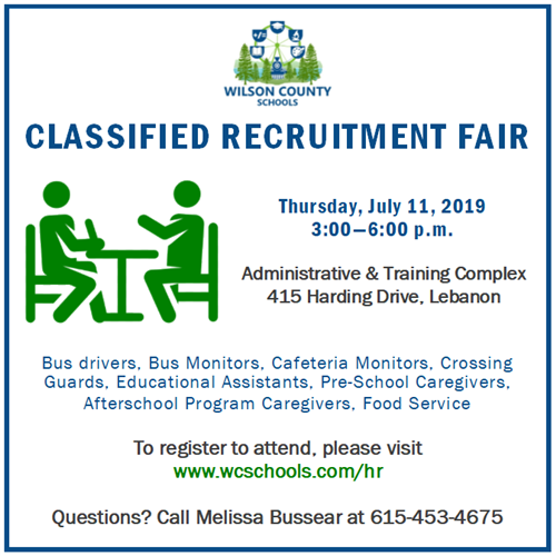Classified Recruitment Fair