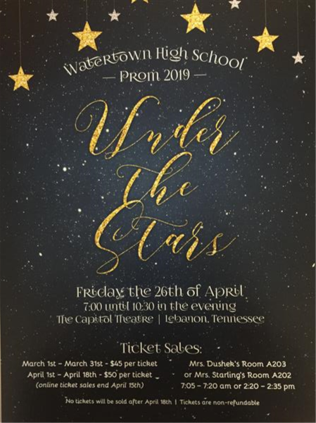 WHS Prom Poster