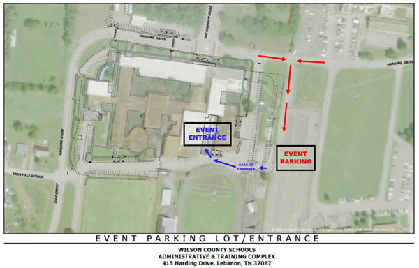 Event Parking Diagram