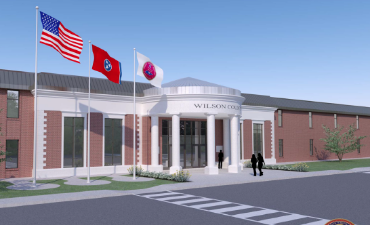 Administrative & Training Complex Rendering