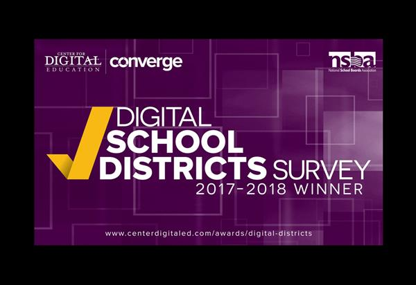 Wilson Co. Schools Receives National Award for Digital Excellence
