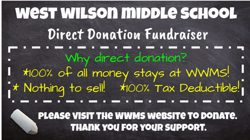 Donation Fundraiser Graphic